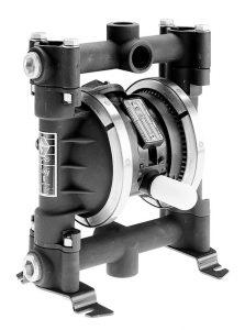 Husky 716 Aluminum Transfer Pump Package with Acetal Seat, Santoprene Ball & Santoprene Diaphragm